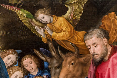 Hugo van der Goes - Anbetung der Hirten, restauriert