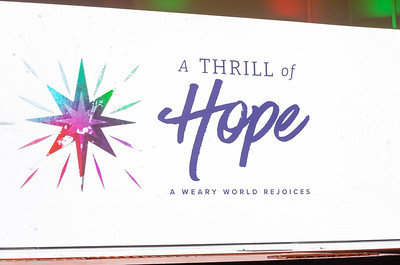 2020 - A Thrill Of Hope In A Weary World Rejoices