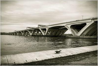 Under the Wilson Bridge - November 2020