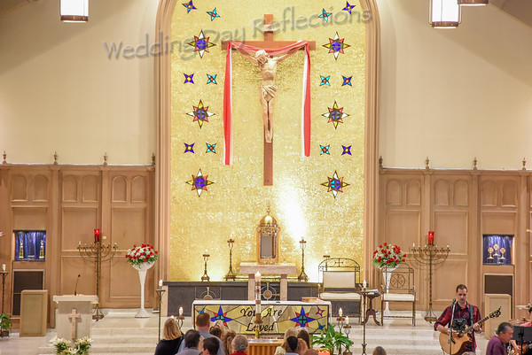 St. Charles Baptism and Communion May 2018