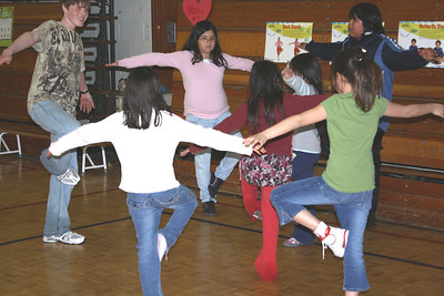 John Corbett's Pictures of Bishop Belleau School Jump Rope for Heart & Stroke 2009 April 8th