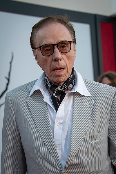 """WESTWOOD, CA - AUGUST 26: Peter Bogdanovich attends the Premiere Of Warner Bros. Pictures' """"It Chapter Two"""" at Regency Village Theatre on Monday, August 26, 2019 in Westwood, California. (Photo by Tom Sorensen/Moovieboy Pictures)"""