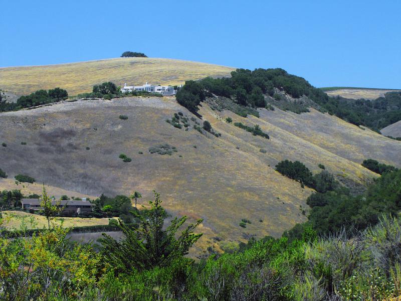 House above Carmel Valley