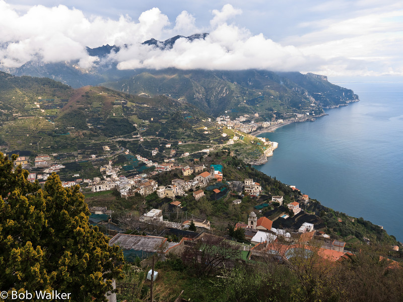 After leaving Sorrento, we drove to Ravello, from which this and the following photos were taken from. Breathtakingly beautiful! The city sits high looking over many villages. http://en.wikipedia.org/wiki/Ravello