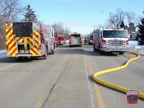 House fire on January 17, 2016