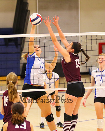 2015-10-19 WHS Girls Volleyball vs Goffstown