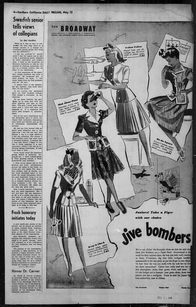 Daily Trojan, Vol. 34, No. 148, May 17, 1943