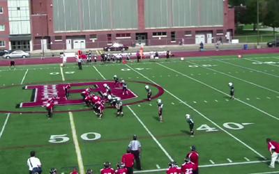 Evan Russell; Football Highlights.