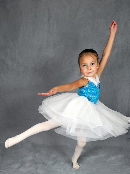 5/22/10 Madeline in her Ballet Costume