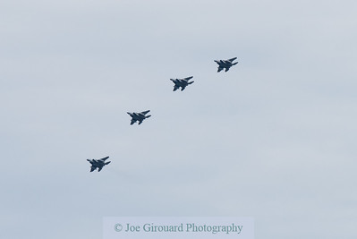 104th Fighter Wing Boston Flyover