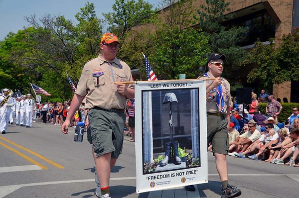 Naperville Memorial Day Parade 2014