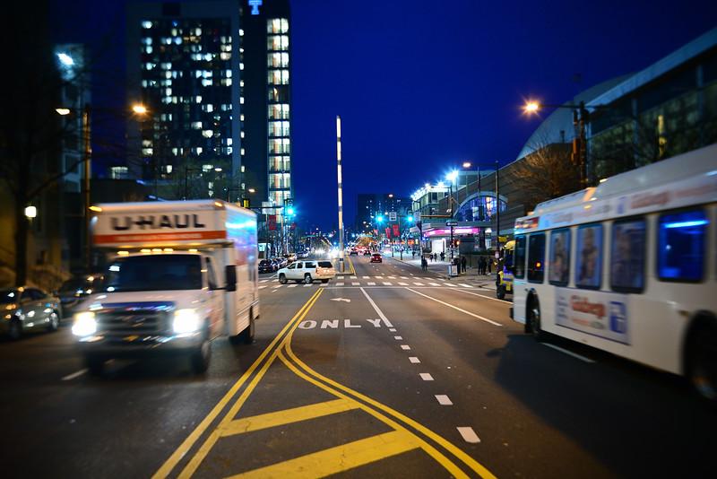 Broad Street Looking South---Philadelphia, PA