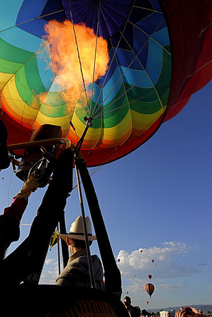 Rocky Mountain Balloon Festival 2008