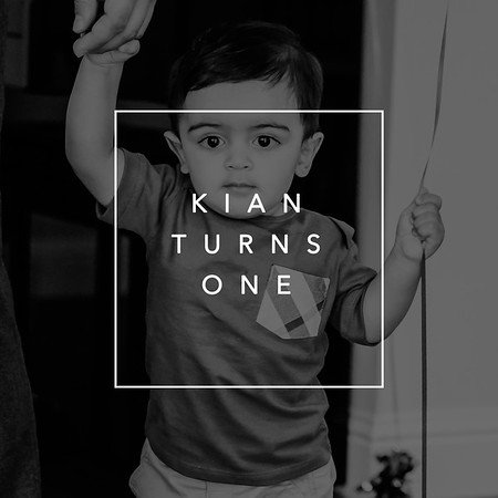 Kian Turns One