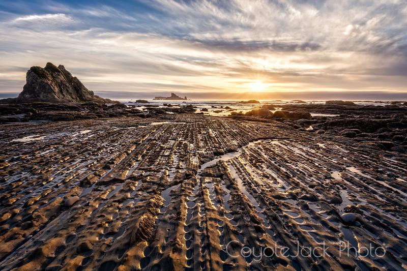 Rialto Beach Sunset