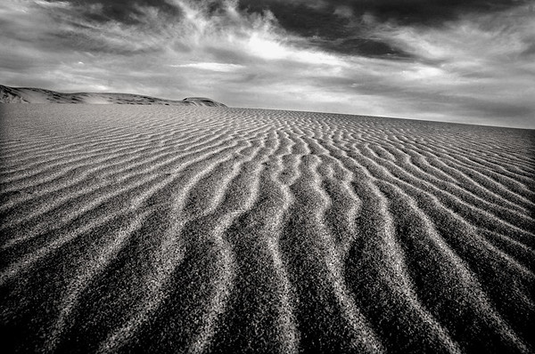 b/w, desert, Death Valley, sand dunes