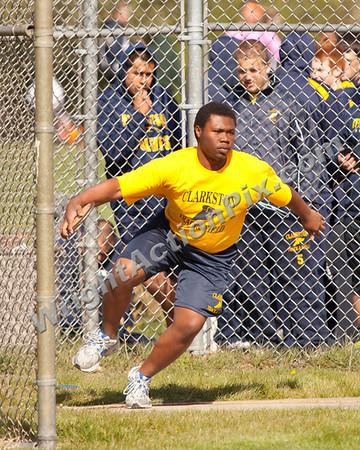2012 04 24 Clarkston Varsity Track vs Lake Orion