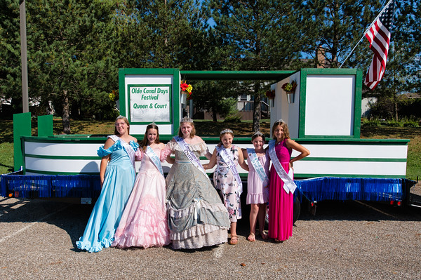 Olde Canal Days Queen's & Court