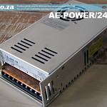 SKU: AE-POWER/24/17, Switched-mode 220V Power Supply Output DC 24V 17A, for FastCOLOUR Large Format Printer