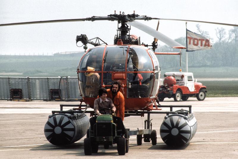 Alouette III F-BPPH (SA 316 B  #2245) du port autonome du Havre (1978).