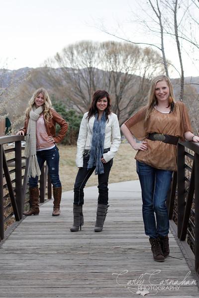 Hailey, Brandi, & Sonia