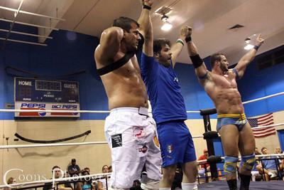 Bill King, Andy Sweet & Jim Sullivan vs Furio Falcone, The Big O & Matt Striker