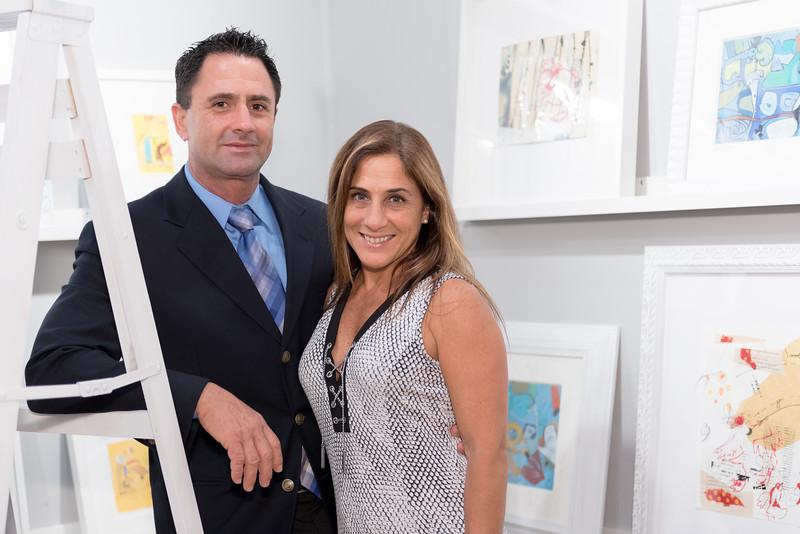 Luis Carlos Noriega, Lorena Aboado