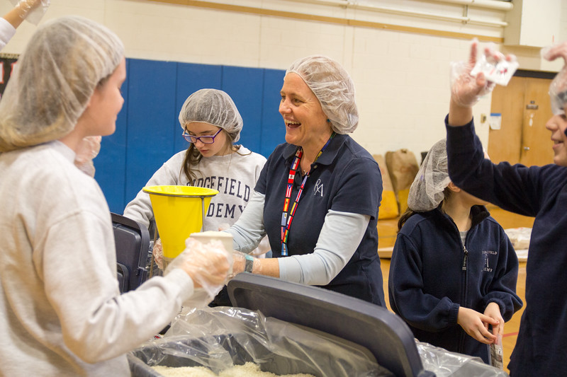 Serving Learning: Stop Hunger Now