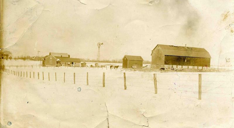 Charles Herdrich Farm at Greenwood, Wisconsin