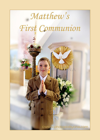 Matthew's First Communion
