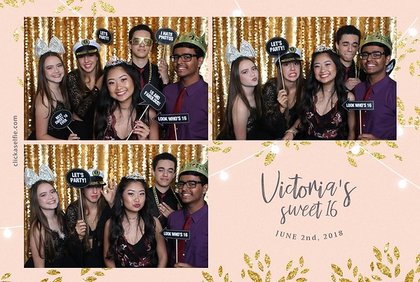 Victoria's Sweet 16 Party