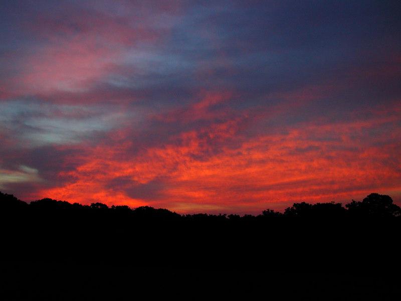 Sunrise Friday morning Sept 22, 2006.
