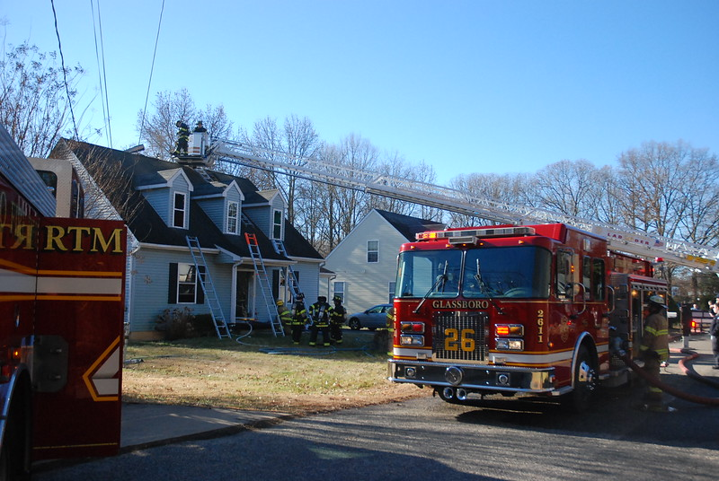 12-28-2013 (Gloucester County) GLASSBORO - 318 Truman Ave - Dwelling Fire  - All Hands
