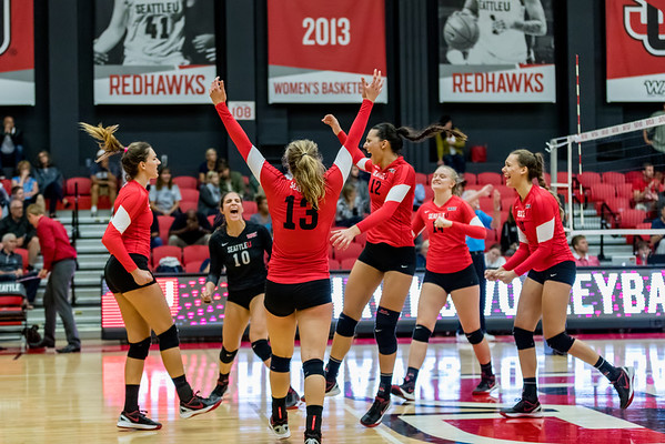 2016 Seattle U Volleyball vs Villanova