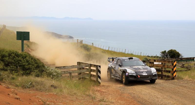 Marcus van Klink, Mazda RX8, SS5 Whaanga Coast 2.