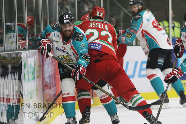 Cardiff Devils vs Belfast Giants 26-03-17