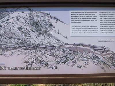 Hohokam Ruins Cave Creek Rd