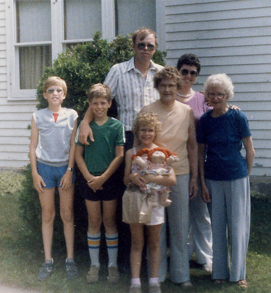 A visit to Great-Grandma Herdrich's
