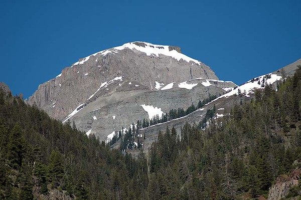 Common sight from anywhere near Ouray, Colorado