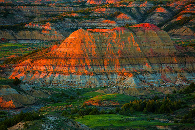 North Dakota,  Theodore Roosevelt National Park, 北达科他州,西奥多罗斯福国家公园