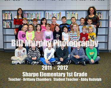 2011 - 2012 Sharpe Elementary Class Groups, February 8, 2012.