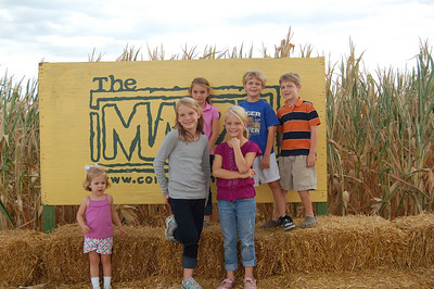 Corn Maze October 2010