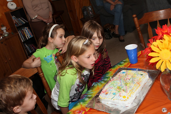 Mallori's 7th Birthday