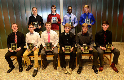 County players honored