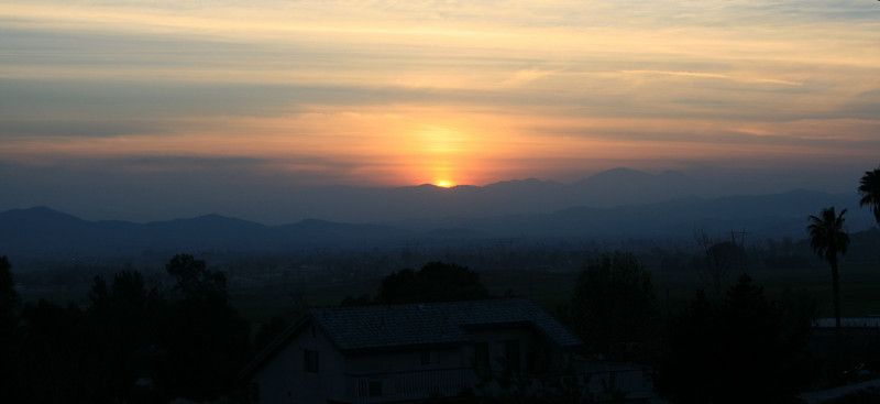 Sunset, 17 Feb 2008