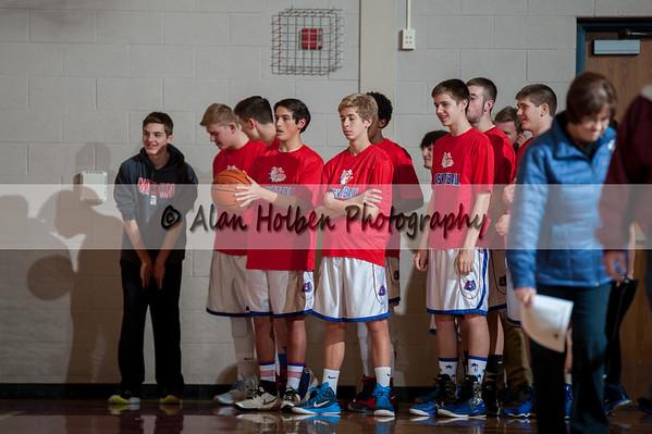 Men's JV Basketball - St. Johns at Mason