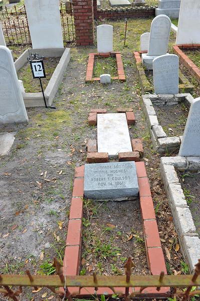 Oak Grove Cemetery Burial of Minnie Hughes Coulson 03-26-19