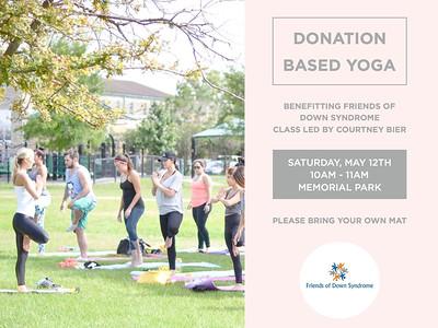 Yoga Fundraiser 2018