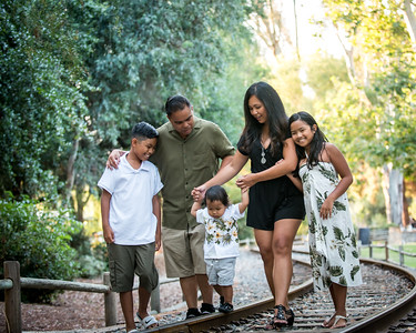 Buenaventura Family at Old Poway Park