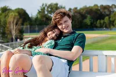 Mira M and Charlie K Photoshoot - August 25, 2020